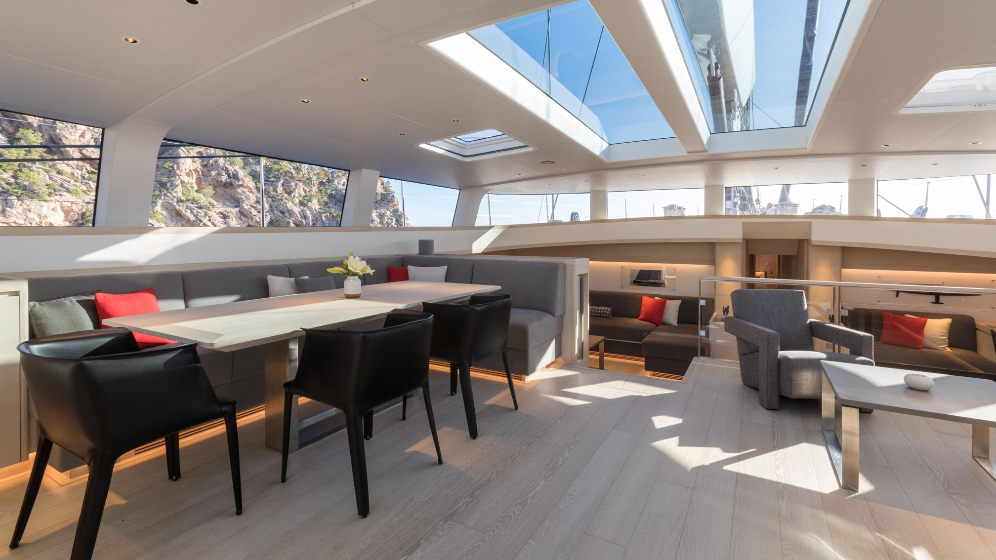 g2 cinderella iv sailing yacht vitters 2009 39m saloon after refit