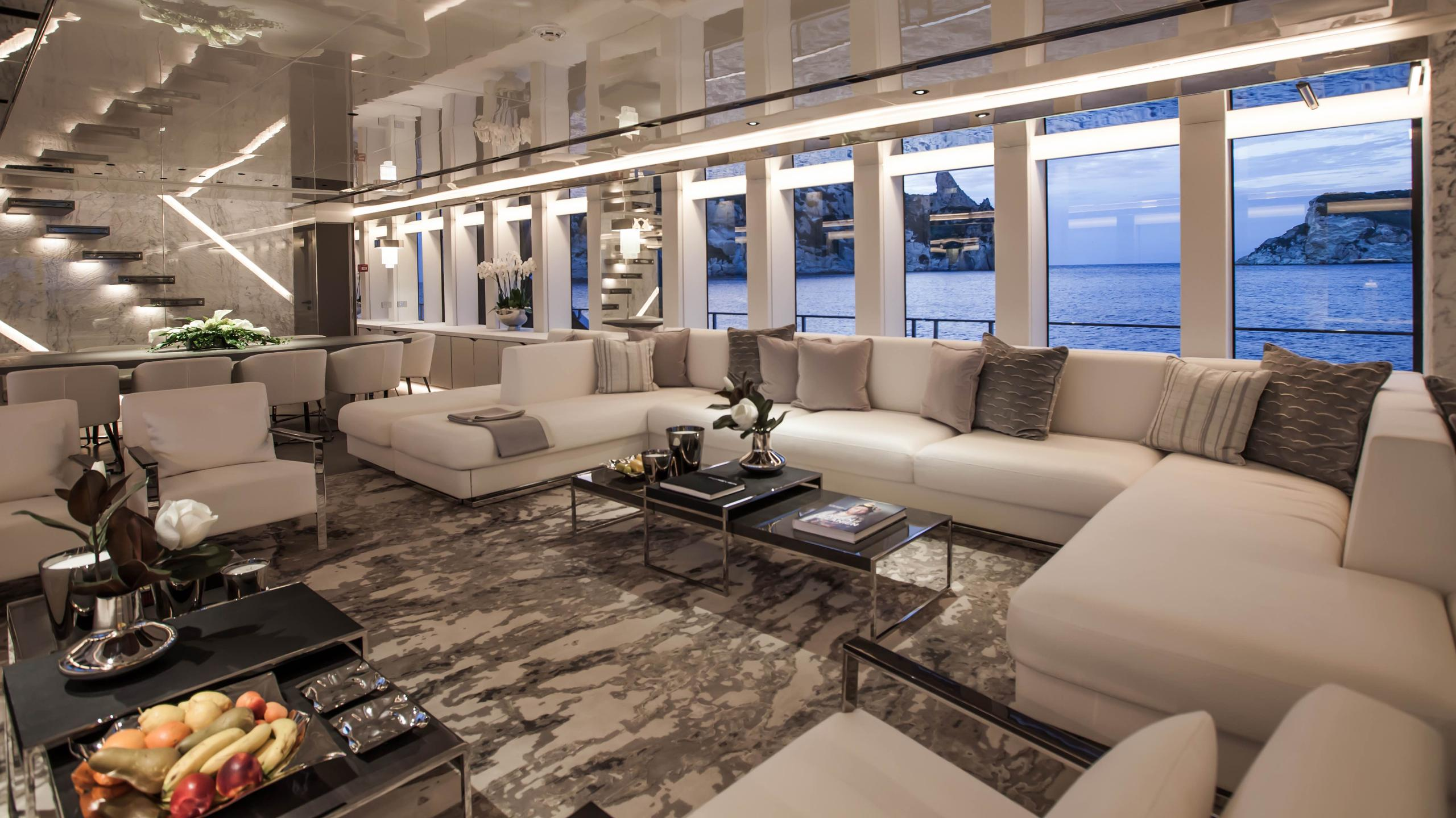 forever logica 147 motor yacht 2014 45m saloon