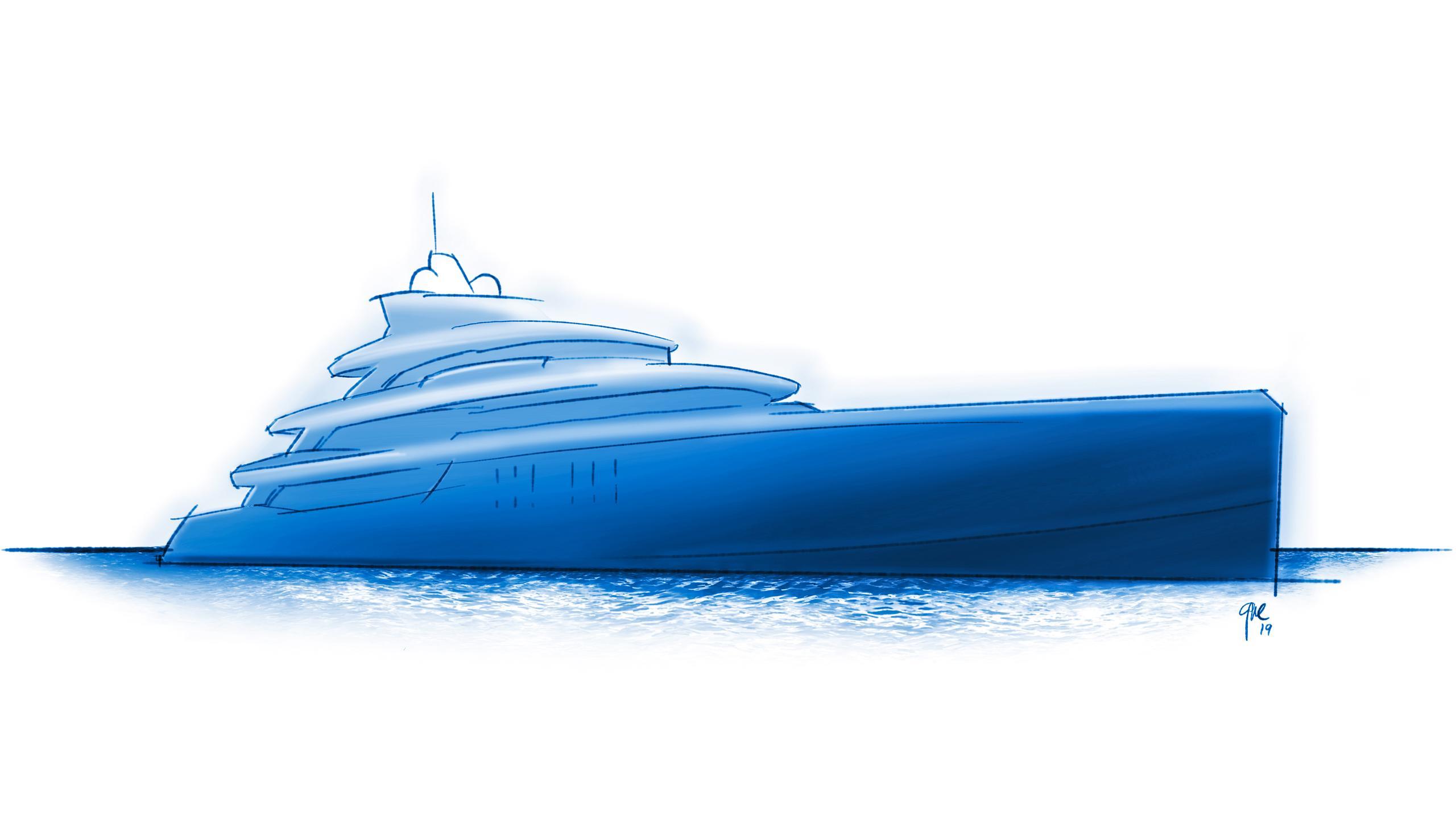 project fenestra motoryacht benetti fb278 67m 2021 rendering