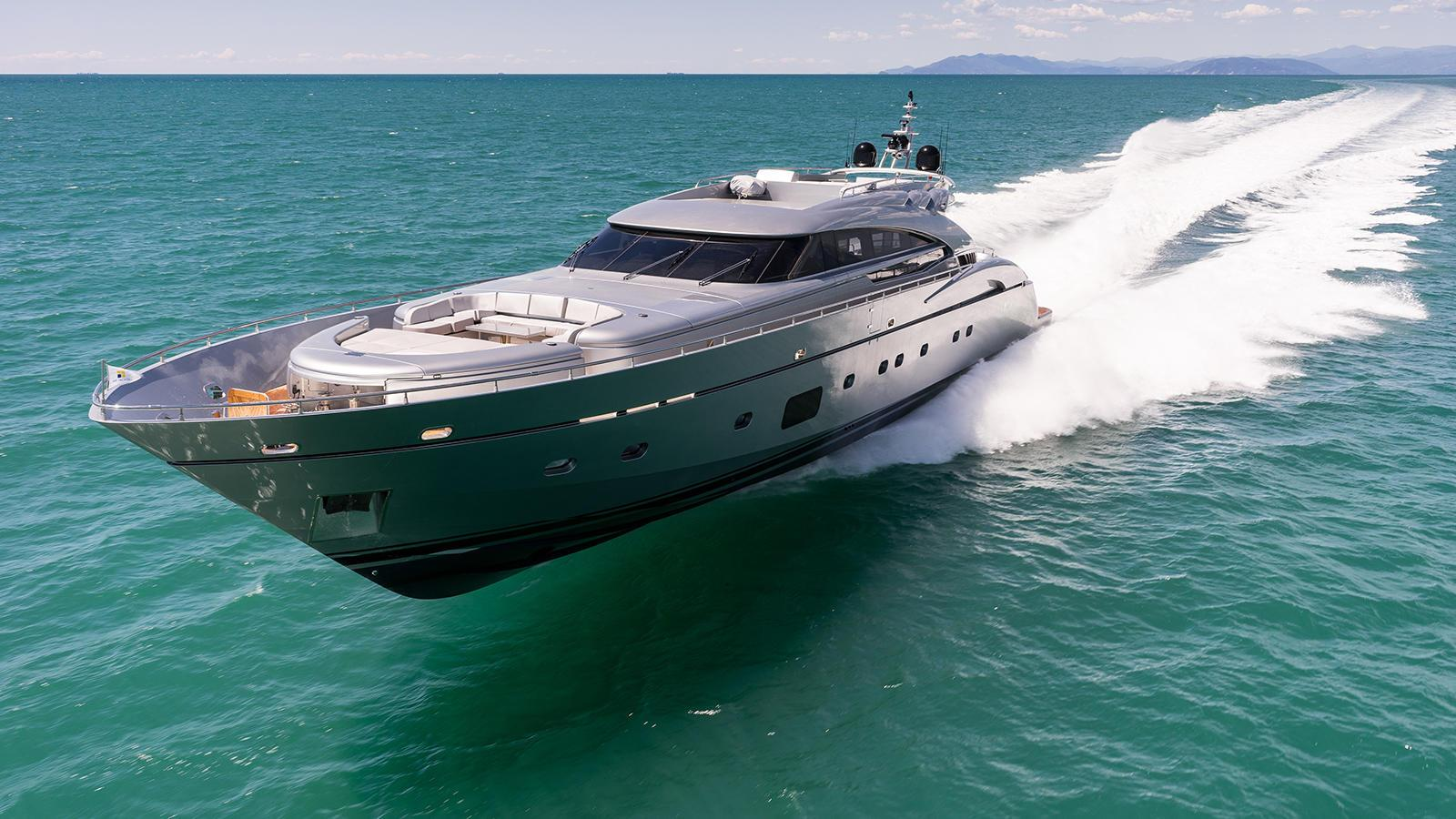 The yacht Swift built by AB Yachts