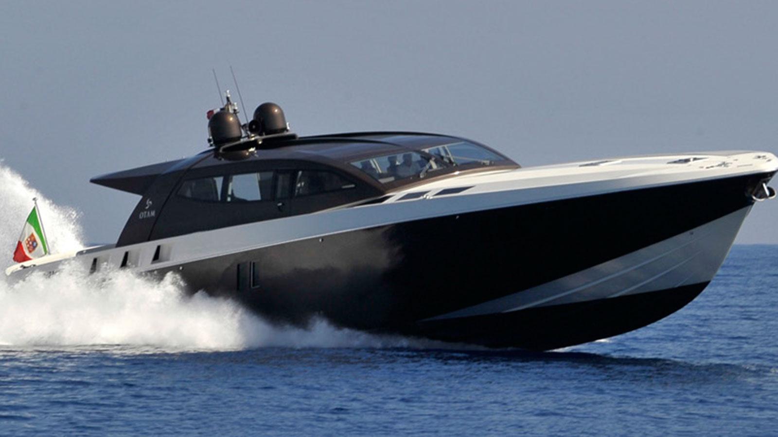 The superyacht Black Bullet by Otam