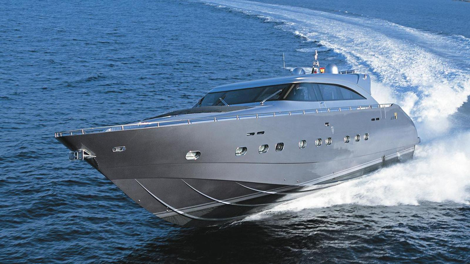 The superyacht Kereon by AB Yachts