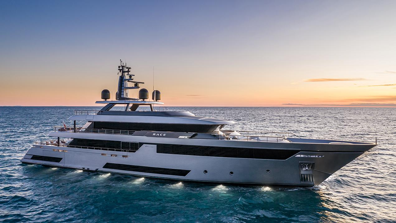 race motoryacht riva yachts 50m 2019 half profile