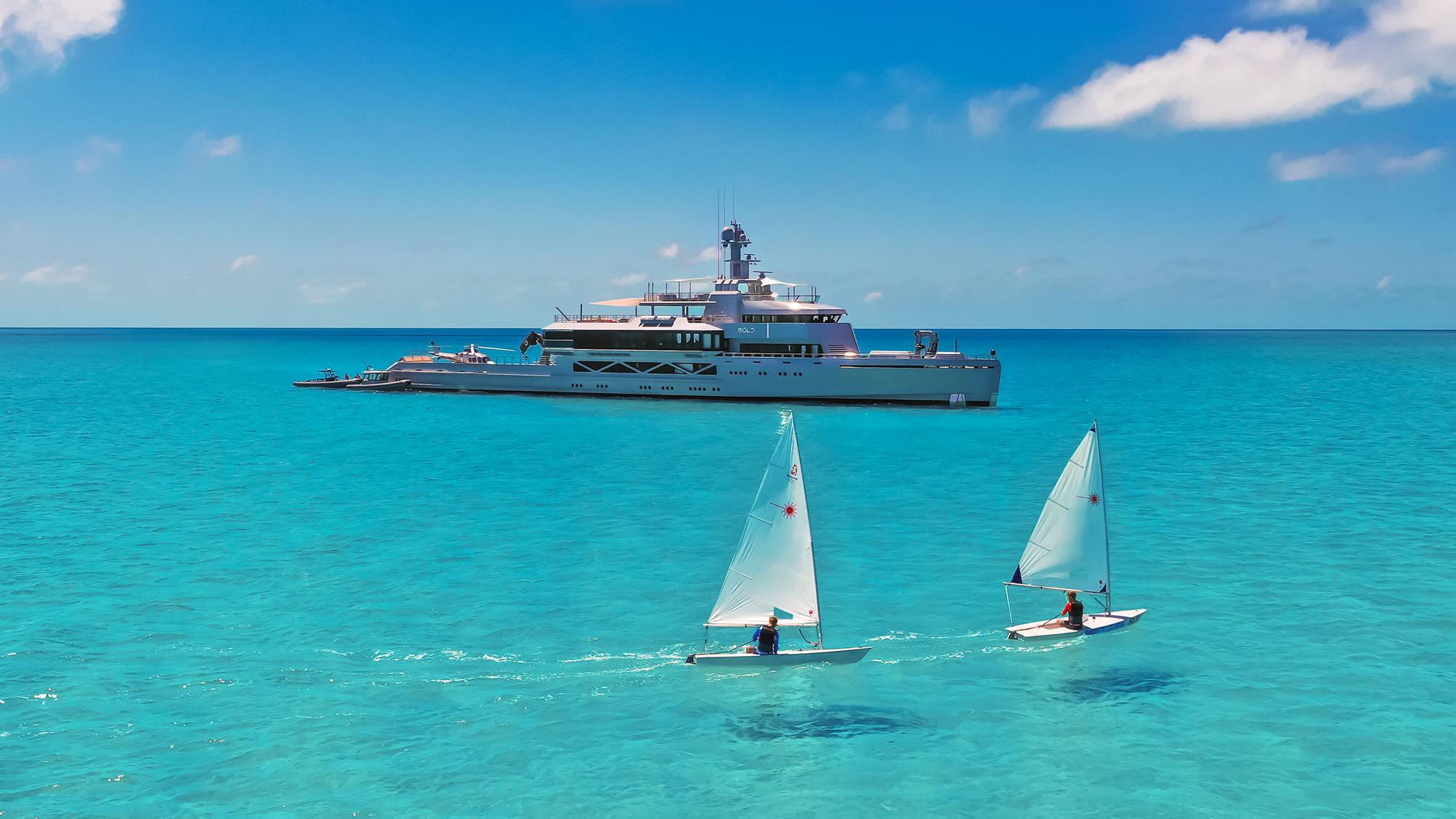 BOLD yacht for charter (Silver Yachts, 85.3m, 2019)
